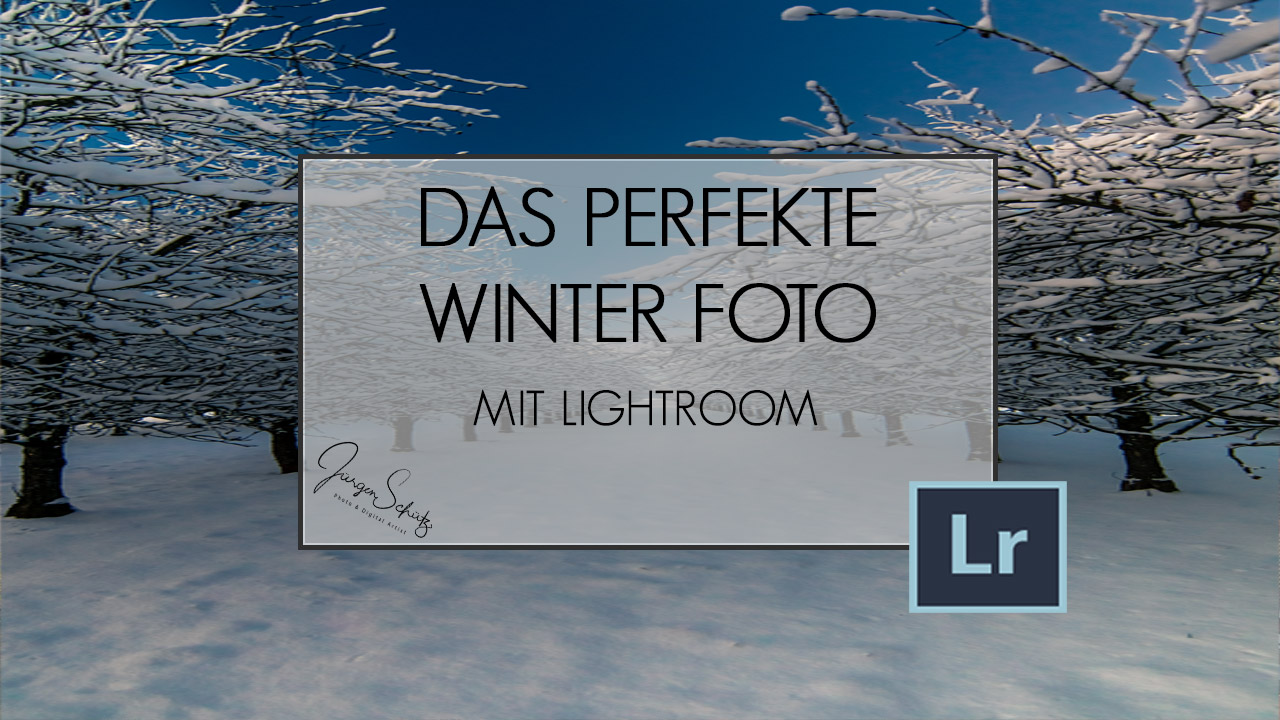 KITEA - Ein perfektes Winter Foto mit Lightroom