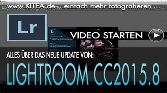 KITEA - Adobe Creative Cloud Lightroom 2015.8 - Das Update