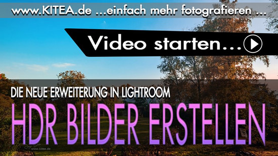 KITEA - Die HDR Funktion in Lightroom
